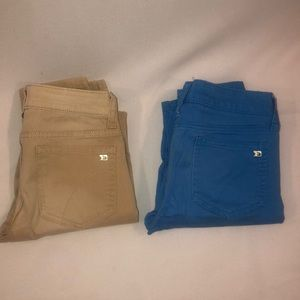 2 for $20 JOES JEANS! Size  Youth 10 Blue & Tan